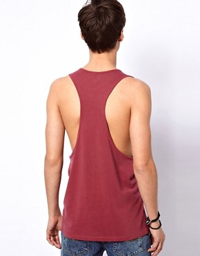 Image 2 of ASOS Vest With Extreme Racer Back