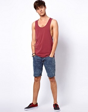 Image 4 of ASOS Vest With Extreme Racer Back