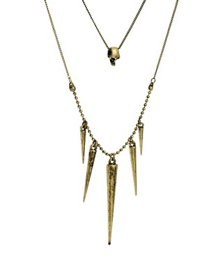 Image 4 ofPieces Double Necklace with Spikes