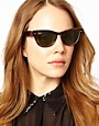 Image 3 ofRay-Ban Havana Laramie Small Frame Sunglasses