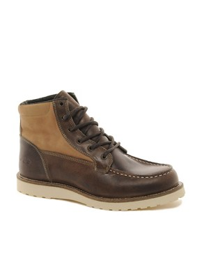 Image 1 ofJack &amp; Jones Logger Moc Toe Boots