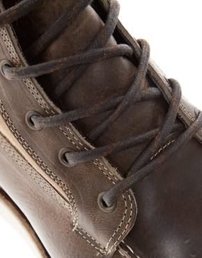 Image 2 ofJack &amp; Jones Logger Moc Toe Boots