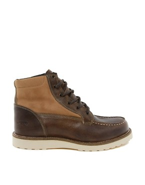 Image 4 ofJack &amp; Jones Logger Moc Toe Boots