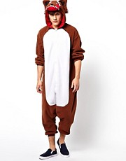 Kigu Wolf Onesie
