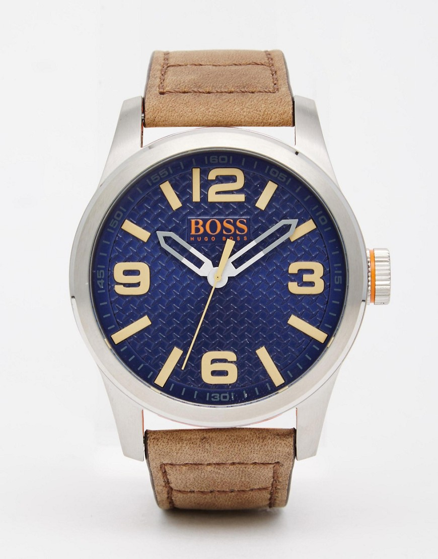 boss-orange-paris-watch-with-brown-leather-strap-brown