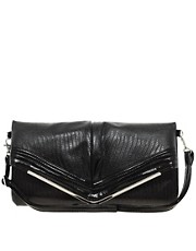 Liquorish Vintage Style Fold Over Shoulder Bag