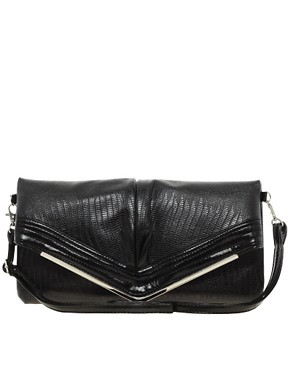 Image 1 ofLiquorish Vintage Style Fold Over Shoulder Bag