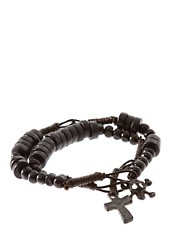 ASOS 2 Pack Skull Crucifix Bracelet