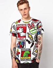 Lazy Oaf Locals T-Shirt