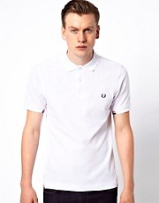 Fred Perry Polo with Insert Rib