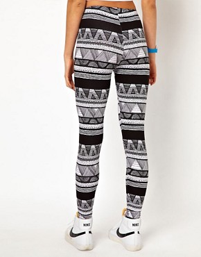Image 2 ofAmerican Apparel Printed Legging