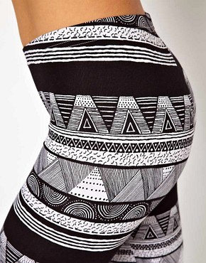 Image 3 ofAmerican Apparel Printed Legging