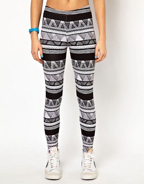 Image 4 ofAmerican Apparel Printed Legging