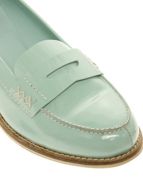 Image 2 ofASOS MACABEE Patent Loafer