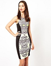 A Wear Racer Back Aztec Dress