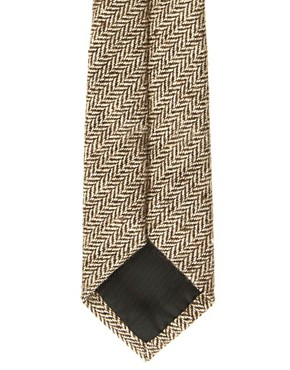 Image 2 ofASOS Herringbone Tie
