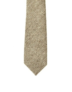 Image 3 ofASOS Herringbone Tie
