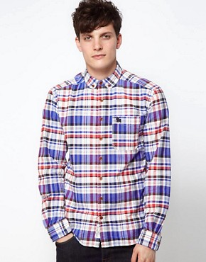 Image 1 ofJack &amp; Jones Shirt with Button Down Collar