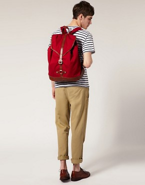 Image 3 ofASOS Canvas Backpack