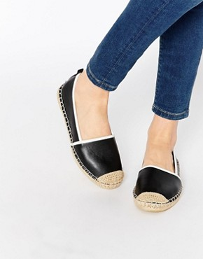 London Rebel Black Espadrilles