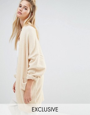 Micha Lounge Oversized Bell Sleeved Cardigan