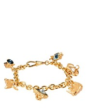 Bill Skinner Animal Charm Bracelet