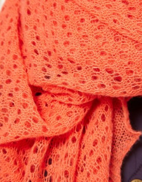 Image 2 ofJo Gordon Square Lace Scarf