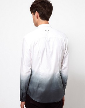 Image 2 ofUnconditional Shirt with Dip Dye Print