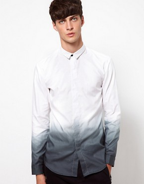 Image 1 ofUnconditional Shirt with Dip Dye Print