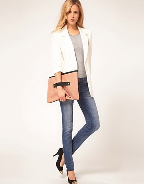 Image 3 ofASOS Hand Slot Through Clutch