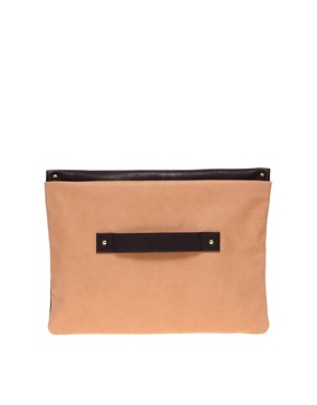 Image 1 ofASOS Hand Slot Through Clutch