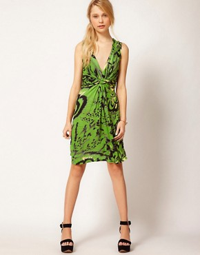 Image 4 ofTraffic People Twist Dress In Tribal Butterfly Dress