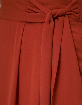 Image 3 ofA Wear Maxi Skirt With Knot Front