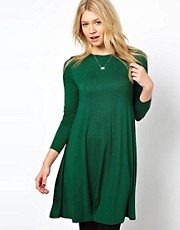 ASOS Swing Dress With Long Sleeves