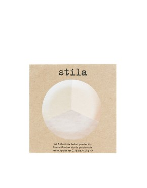 Image 2 ofStila Set &amp; Illuminate Baked Powder Trio