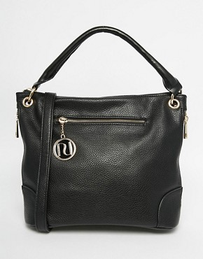 River Island Black Mini Bucket Bag