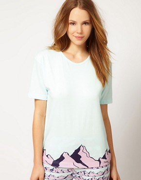 Image 1 ofAlas Exclusive To ASOS Alpine Tee In Organic Cotton With Gift Box