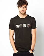 Paul Smith Jeans T-Shirt with CALI Print