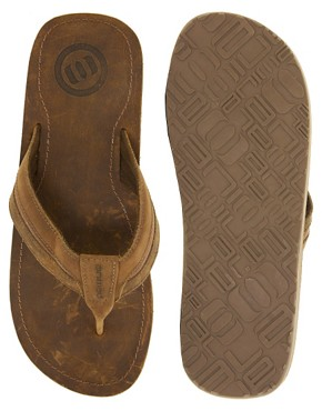 Image 3 ofAnimal Whitley Leather Flip Flops
