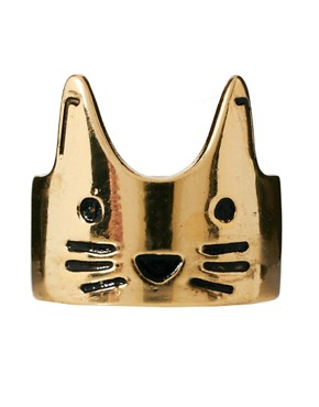Image 2 ofASOS Cat Face Ring