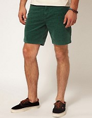 RVCA Shorts Cordell Stone Wash Slim Fit
