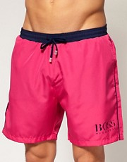 Boss Black Star Fish Swim Shorts Exclusive