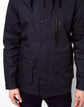 Image 3 ofPlectrum By Ben Sherman Jacket Hooded Waterproof