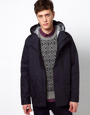 Image 1 ofPlectrum By Ben Sherman Jacket Hooded Waterproof