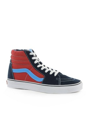 Image 1 ofVans Sk8-Hi Trainers