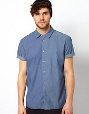 Camisa con paneles combinados de Paul Smith Jeans