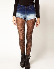 ASOS Leopard Print Tights