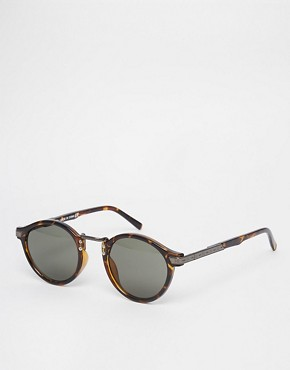 Image 1 ofASOS Vintage Round Lens Glasses