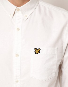 Image 3 ofLyle and Scott Vintage Shirt in Oxford Cotton