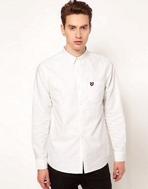 Image 1 ofLyle and Scott Vintage Shirt in Oxford Cotton